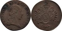 1/2 Kreuzer 1800 RDR Ungarn Siebenbürgen Karlsburg Franz II./I., 1792-1... 400,00 EUR