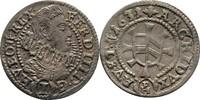 Kreuzer 1631 RDR Schlesien Glatz Ferdinand III. vor 1637 als König. ss  60,00 EUR