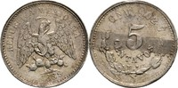 Mexico 5 Centavos 1889 Kratzer, sonst fast Stempelglanz  20,00 EUR  +  3,00 EUR shipping