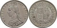 Halfcrown 1887 Großbritannien Victoria, 1837-1901 kl. Kratzer, vz  60,00 EUR  +  3,00 EUR shipping