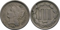 3 Cents 1865 USA  ss  25,00 EUR  +  3,00 EUR shipping