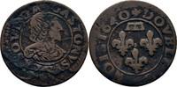 Double Tournois 1640 Frankreich Dombes Gaston, 1628-1657 f.ss/ss  45,00 EUR  +  3,00 EUR shipping