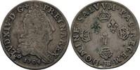 1/8 Ecu 1704 Frankreich Straßburg Ludwig XIV., 1643-1715 f.ss  25,00 EUR  +  3,00 EUR shipping