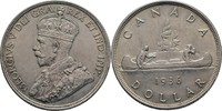 Dollar 1936 Canada George V., 1910-1936 ss+  45,00 EUR  +  3,00 EUR shipping