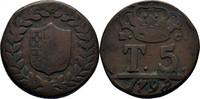 5 Tornesi 1798 Italien Neapel Ferdinand IV., 1759-1799 f.ss  25,00 EUR  +  3,00 EUR shipping