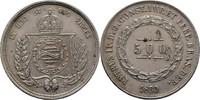 500 Reis 1860 Brasilien Pedro II., 1831-1889 ss  45,00 EUR  +  3,00 EUR shipping