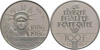 100 Francs Piedfort 1986 Frankreich  offen, PP, minimal berieben.  65,00 EUR  +  3,00 EUR shipping