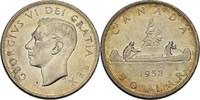 Dollar 1952 Canada George VI. vz  38,00 EUR  +  3,00 EUR shipping
