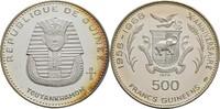 500 Francs 1970 Guinea Tutanchamun offen, Kontaktmarken, winzige Kratze... 50,00 EUR  +  3,00 EUR shipping