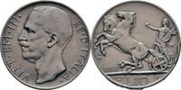 10 Lire 1927 Italien Viktor Emanuel III., 1900-1946. Randschläge, ss  30,00 EUR  +  3,00 EUR shipping