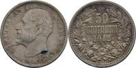 50 Stotinki 1912 Bulgarien Ferdinand I., 1908-1918. f.vz  20,00 EUR  +  3,00 EUR shipping