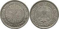 50 Reichspfennig 1937 D Deutsches Reich  vz  10,00 EUR  +  3,00 EUR shipping