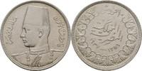 10 Piaster 1937 Ägypten Farouk, 1936-1952 vz  20,00 EUR  +  3,00 EUR shipping