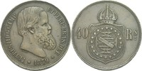40 Reis 1879 Brasilien Pedro II., 1831-1889. ss  20,00 EUR  +  3,00 EUR shipping
