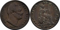 Farthing 1835 Großbritannien William IV., 1830-1837. f.ss  20,00 EUR  +  3,00 EUR shipping