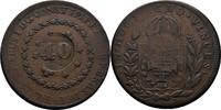 40 Reis 1827 Brasilien Brazil Pedro I., 1822-1831 ss  25,00 EUR  +  3,00 EUR shipping