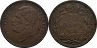 10 Para 1868 Serbien Michael III. Obrenovic, 1839 - 1868 fss/ss  15,00 EUR  +  3,00 EUR shipping