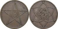 10 Mazunas 1911 Marokko Yusuf, 1912-27 ss+  10,00 EUR  +  3,00 EUR shipping