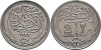 2 Piaster 1917 Ägypten Hussein Kamil, 1914-17 ss kl. Kratzer  15,00 EUR  +  3,00 EUR shipping