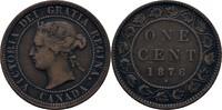 1 Cent 1876 H Kanada Victoria, 1837-1901 ss  10,00 EUR  +  3,00 EUR shipping