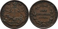 1/4 Anna 1835 Britisch East India William IV., 1830-37 ss  17.22 US$ 15,00 EUR  +  3.44 US$ shipping