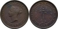 1 Cent 1892 Ceylon Victoria, 1837-1901 ss  10,00 EUR  +  3,00 EUR shipping