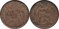 1 Penny 1889 England Victoria, 1837-1901 fast prägefrisch m. Prägeglanz  60,00 EUR  +  3,00 EUR shipping