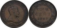 1 Cent 1903 Kanada Edward VII., 1901-10 ss  8.04 US$ 7,00 EUR  +  3.44 US$ shipping