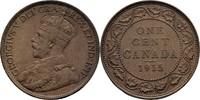 1 Cent 1915 Kanada George V., 1910-36 vz  15,00 EUR  +  3,00 EUR shipping
