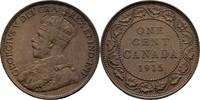 1 Cent 1915 Kanada George V., 1910-36 vz  17.22 US$ 15,00 EUR  +  3.44 US$ shipping