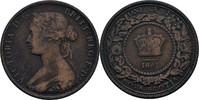 1 Cent 1861 Kanada - Neuschottland Victoria, 1837-1901 fast ss  7,00 EUR  +  3,00 EUR shipping