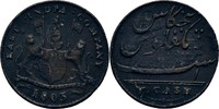 5 Cash 1803 Britisch India - Madras George III., 1760-1820 fast ss  10,00 EUR  +  3,00 EUR shipping