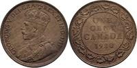 1 Cent 1920 Kanada George V., 1910-36 vz  11.48 US$ 10,00 EUR  +  3.44 US$ shipping