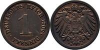 Pfennig 1906 E Deutsches Reich  Prägeschwächen,vz  8,00 EUR  +  3,00 EUR shipping