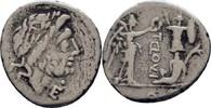 Quinar 98-97 RÖMISCHE REPUBLIK T. Cloulius, 98 v. Chr. ss  250,00 EUR free shipping