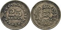 25 Senti 1928 Estland  ss kl. Randfehler  15,00 EUR  +  3,00 EUR shipping