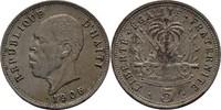 5 Centimes 1905 Haiti  vz  15,00 EUR  +  3,00 EUR shipping