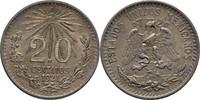 20 Centavos 1921 Mexico  fast Stempelglanz  40,00 EUR  +  3,00 EUR shipping