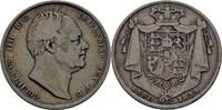 Halfcrown 1834 Grossbritannien William IV., 1830-1837 ss  85,00 EUR  +  3,00 EUR shipping