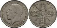 Florin 1921 Grossbritannien Georg V., 1910-1936 kl. Randunebenheiten, vz  25,00 EUR  +  3,00 EUR shipping
