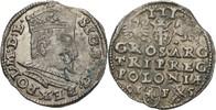 Dreigröscher Trojak 1595 Polen Lublin Sigismund III., 1587-1632 Zainend... 250,00 EUR free shipping