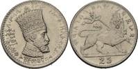 25 Matonas 1923 Äthiopien Zauditu, 1916-30 fast prägefrisch  50,00 EUR  +  3,00 EUR shipping