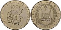 100 Francs 1991 Djibouti 2 Dromedare prägefrisch  7,00 EUR  +  3,00 EUR shipping