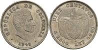 10 Centavos 1942 B Kolumbien  vz+  15,00 EUR  +  3,00 EUR shipping