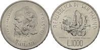 1000 Lire 1978 San Marino 150. Geburtstag Tolstoi vz+  17,00 EUR  +  3,00 EUR shipping