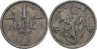 1 Öre 1942 Norwegen Haakon VII., 1905-57 vz fleckig  10,00 EUR  +  3,00 EUR shipping