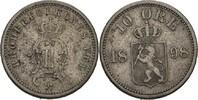 10 Öre 1898 Norwegen Oscar II., 1872-1907 ss  20,00 EUR  +  3,00 EUR shipping
