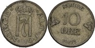 10 Öre 1917 Norwegen Haakon VII., 1905-57 vz  20,00 EUR  +  3,00 EUR shipping