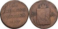 1 Skilling 1820 Norwegen Carl XIV., 1818-44 s+  15,00 EUR  +  3,00 EUR shipping