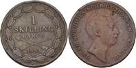 1 Skilling 1852 Schweden Oscar I., 1844-59 fast ss  25,00 EUR  +  3,00 EUR shipping